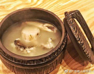 茯苓淮山煲筍殼魚